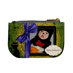 Halloween By Joely   Mini Coin Purse   8onw97f0a6kq   Www Artscow Com Back