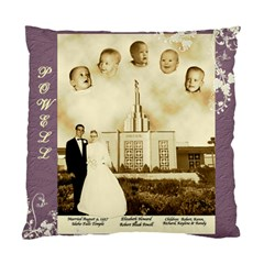 Elizabeth Powell Pillow By Nancy Powell   Standard Cushion Case (two Sides)   4uhxmwckamsh   Www Artscow Com Front