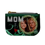 Mom Green Mini Coin Purse