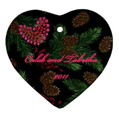 Cpm By Tabetha Wilson   Heart Ornament (two Sides)   Hbnfhdc77cea   Www Artscow Com Back