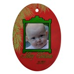 tree boughs ornament - Ornament (Oval)