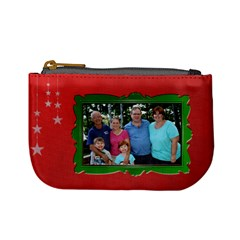 Merry Christmas Change Purse By Patricia W   Mini Coin Purse   Hp5gxgeteocr   Www Artscow Com Front