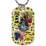 Kyle - Dog Tag (One Side)