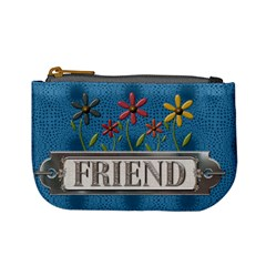 Friend Mini Coin Purse By Lil    Mini Coin Purse   3bxh4z4lql3w   Www Artscow Com Front