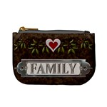 Family Love Mini Coin Purse