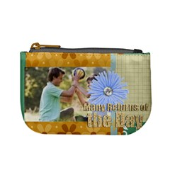 Happy Day By Joely   Mini Coin Purse   0oxk6dbt67z6   Www Artscow Com Front