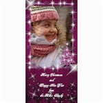 A Little Sparkle 4x8 Christmas Photo Card - 4  x 8  Photo Cards