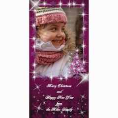 A Little Sparkle 4x8 Christmas Photo Card By Deborah   4  X 8  Photo Cards   8si7lxrk9d6c   Www Artscow Com 8 x4 Photo Card - 8