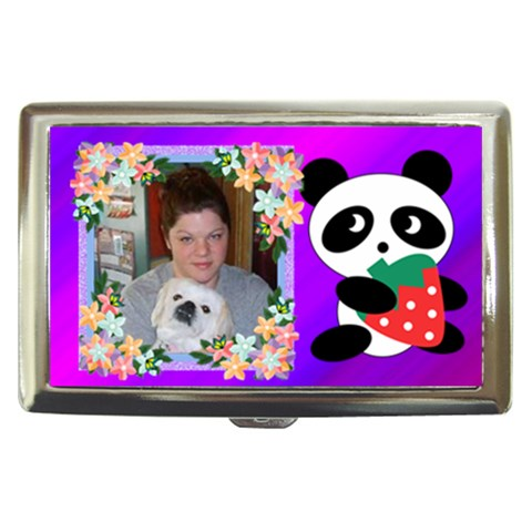 Panda Cigarette Money Case By Kim Blair   Cigarette Money Case   X2tzhvnjgbe3   Www Artscow Com Front