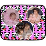 panda bear mini fleece blanket - Fleece Blanket (Mini)