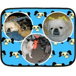 puppy mini fleece blanket - Fleece Blanket (Mini)