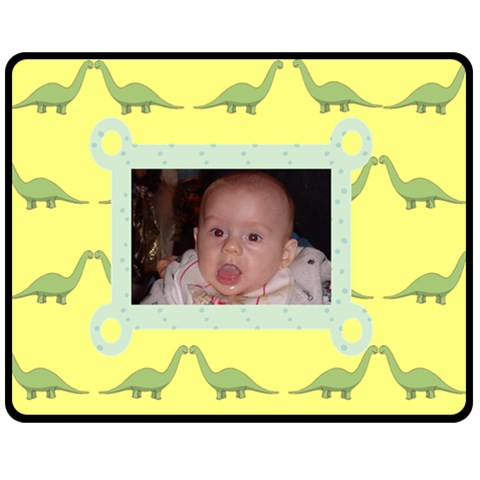 Dino Blanket By Kim Blair   Fleece Blanket (medium)   D41qhp9ztmmj   Www Artscow Com 60 x50 Blanket Front