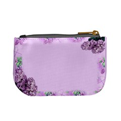 Pink Lilac Mini Coin Purse By Deborah   Mini Coin Purse   G54fy5eleen5   Www Artscow Com Back
