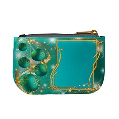 Christmas Named Mini Coin Purse (teal) By Deborah   Mini Coin Purse   Wznwl48ij8pj   Www Artscow Com Back