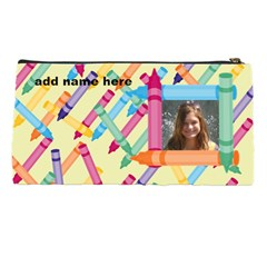 Crayon Pencil Case By Kim Blair   Pencil Case   Zsqpa4tj3swd   Www Artscow Com Back