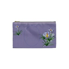 Croton Small Cosmetic Bag By Deborah   Cosmetic Bag (small)   Mv3jrfhhgz40   Www Artscow Com Front
