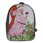 art noveau - School Bag (Large)