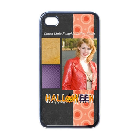 Halloween By Joely   Apple Iphone 4 Case (black)   0irhdjw8qik6   Www Artscow Com Front