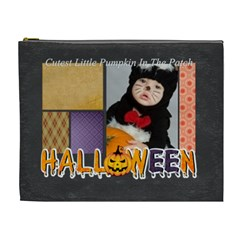 Halloween By Joely   Cosmetic Bag (xl)   Tcsx5pg5d9q6   Www Artscow Com Front