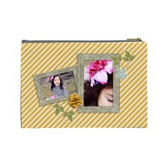 Cosmetic Bag (large): Simple Joys By Jennyl   Cosmetic Bag (large)   0q43bjs1uxm3   Www Artscow Com Back