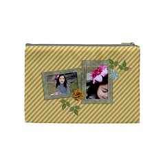 Cosmetic Bag (medium): Simple Joys By Jennyl   Cosmetic Bag (medium)   Dw0qcbbzt9cs   Www Artscow Com Back