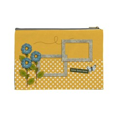 Cosmetic Bag (large): Lovelovelove By Jennyl   Cosmetic Bag (large)   6g2qvd0kec6k   Www Artscow Com Back