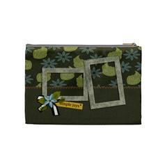 Cosmetic Bag (medium): Simple Joys2 By Jennyl   Cosmetic Bag (medium)   I4lk1i0n2lei   Www Artscow Com Back