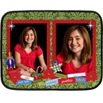 Christmas/Holiday-mini fleece blanket - Fleece Blanket (Mini)