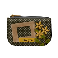 Mini Coin Purse : I Love You By Jennyl   Mini Coin Purse   Rgyn3tk0ql50   Www Artscow Com Front