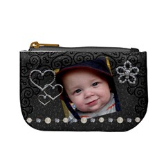 Fancy Midnight Mini Coin Purse By Lil    Mini Coin Purse   0qb7blofv0yi   Www Artscow Com Front
