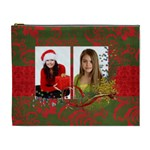 Chrismtas/Holiday-cosmetic bag (XL)