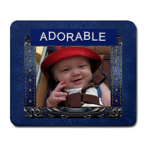 Adorable Large Mousepad By Lil    Large Mousepad   Coh9vthrgetr   Www Artscow Com Front