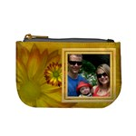 Yellow Flower Mini Coin Purse