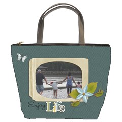 Bucket Bag: Enjoy Life By Jennyl   Bucket Bag   66k8t8hiplkc   Www Artscow Com Front