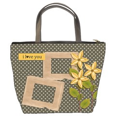 Bucket Bag: I Love You By Jennyl   Bucket Bag   Mckc1afqv4c6   Www Artscow Com Back