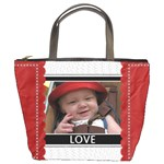 Love & Laughter Bucket Bag