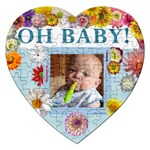 Oh Baby Heart Puzzle - Jigsaw Puzzle (Heart)