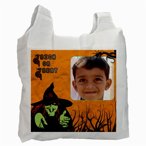 Trick or Treat Bag 3 by Deborah Front