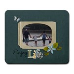 Mousepad: Enjoy Life - Large Mousepad