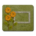 Mousepad: Yellow Flowers - Large Mousepad