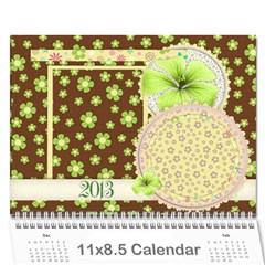 2013 Calendar   Family And Friends By Angel   Wall Calendar 11  X 8 5  (12 Months)   6x7iz4du97uo   Www Artscow Com Cover