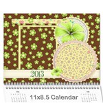 2013 Calendar - Family and Friends - Wall Calendar 11  x 8.5  (12-Months)
