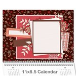 2015 Calendar - Family and Friends 3 - Wall Calendar 11  x 8.5  (12-Months)