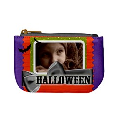 Halloween By Joely   Mini Coin Purse   Ck4yadwtamox   Www Artscow Com Front