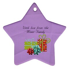 2011 Star Ornament 2 Sided 2 By Martha Meier   Star Ornament (two Sides)   25nj7i7pm3qj   Www Artscow Com Back