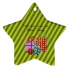 2011 Star Ornament 2 Sided 3 By Martha Meier   Star Ornament (two Sides)   Ar387ix0cvnq   Www Artscow Com Back