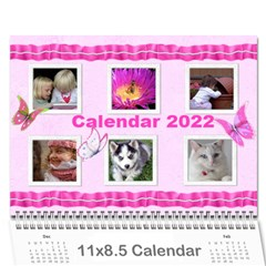My Girl 2018 (any Year) Calendar By Deborah   Wall Calendar 11  X 8 5  (12 Months)   U7dzxhsufbf8   Www Artscow Com Cover