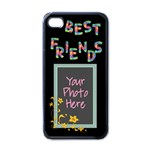 Best Friends iPhone 4 Case Black - Apple iPhone 4 Case (Black)