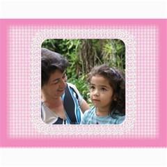 Happy Pink 2019 (any Year) Calendar By Deborah   Wall Calendar 11  X 8 5  (12 Months)   S1efi8lmxwlc   Www Artscow Com Month