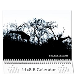 South African By Donny   Wall Calendar 11  X 8 5  (12 Months)   Ki5ro28ultrr   Www Artscow Com Cover